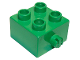 Part No: 3966  Name: Duplo, Brick 2 x 2 with Pin on Side