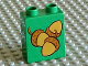 Part No: 4066pb258  Name: Duplo, Brick 1 x 2 x 2 with Acorns Loose Pattern