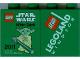 Part No: 4066pb394  Name: Duplo, Brick 1 x 2 x 2 with Star Wars After Dark 2011 Legoland Windsor Pattern