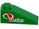Part No: 4286pb025L  Name: Slope 33 3 x 1 with Octan Logo Pattern Model Left Side (Sticker) - Set 60115