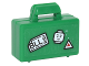 Part No: 4449pb06  Name: Minifigure, Utensil Briefcase with White Tag with 'BLL',  Minifigure Head and Triangle Pattern (Sticker) - Set 76051