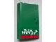 Part No: 58381pb08  Name: Door 1 x 3 x 4 Left - Open Between Top and Bottom Hinge with 'Octan Energy' Pattern (Sticker) - Set 60025
