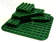 Part No: 6433  Name: Duplo, Baseplate Raised 12 x 12 with Three Level Corner