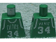 Part No: 973bpb146  Name: Torso NBA Boston Celtics #34 Pattern