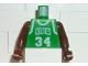 Part No: 973bpb146c01  Name: Torso NBA Boston Celtics #34 Pattern / Brown NBA Arms