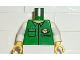 Part No: 973pb0239c01  Name: Torso Cargo Logo with Shirt Pattern / White Arms / Yellow Hands