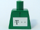 Part No: 973pb0502  Name: Torso German Telekom Green Pattern (Stickers)