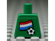 Part No: 973pb0816  Name: Torso Soccer Dutch Goalie, Dutch Flag Sticker Front, White Number Sticker Back (specify number in listing)
