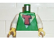 Part No: 973px39c01  Name: Torso FreeStyle Timmy White/Yellow Triangle and Red T Pattern / White Arms / Yellow Hands