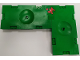 Part No: BA186pb02  Name: Stickered Assembly 24 x 16 x 1.33 with Red Minifigure Soccer Player Pattern on Green Background (Sticker) - Set 3570 - 2 Sports Field Section 8 x 16, 1 Tile 2 x 2