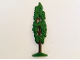 Part No: FTCyp1  Name: Plant, Tree Flat Cypress painted with solid base (1950's version)