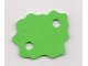Part No: bb0234  Name: Foam, Scala Bush 7 x 6 with 2 Holes