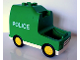 Part No: bb0264  Name: Duplo Van Paddy Wagon Type 2 with 'POLICE' Pattern