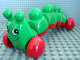 Part No: caterpillarc01  Name: Primo Vehicle Caterpillar with Red Wheels