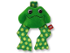 Part No: pri025  Name: Primo Cloth Rattle Soft Frog
