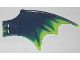 Part No: 23989pb04  Name: Dragon Wing 13 x 8, Trans-Neon Green Trailing Edge