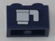 Part No: 3004pb171  Name: Brick 1 x 2 with White Cup Pattern (Sticker) - Set 60197