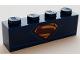 Part No: 3010pb248  Name: Brick 1 x 4 with Superman Shield Pattern