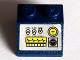 Part No: 3039pb096  Name: Slope 45 2 x 2 with Silver Control Panel with Switches, Gauges and Screen Pattern (Sticker) - Set 8636