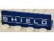 Part No: 30413pb031  Name: Panel 1 x 4 x 1 with 'SHIELD' Pattern (Sticker) - Set 6868