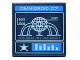 Part No: 3068bpb0984  Name: Tile 2 x 2 with Groove with 'OMNIDROID 07' Screen and Controls Pattern