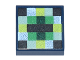 Part No: 3070bpb101  Name: Tile 1 x 1 with Groove with Pixelated Pattern (Minecraft Eye of Ender)