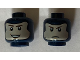 Part No: 3626cpb2356  Name: Minifigure, Head Dual Sided Balaclava, Light Flesh Face with Brown Eyebrows, Smile / Stern Pattern - Hollow Stud