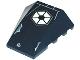 Part No: 47753pb004  Name: Wedge 4 x 4 No Studs with Hexagonal SW Confederacy (CIS) Pattern (Sticker) - Set 7256