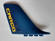 Part No: 53491pb03  Name: Duplo Airplane Large Tail 1 x 9 x 5 with Yellow 'CARGO' Pattern on Both Sides (Stickers) - Set 7843