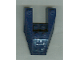 Part No: 6153bpb02R  Name: Wedge 6 x 4 Cutout with Stud Notches with Silver Circuitry (Right Foot) Pattern (Sticker) - Set 7703