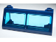 Part No: 6567c03  Name: Windscreen 2 x 6 x 2 Train with Trans-Light Blue Glass