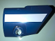 Part No: 87086pb039  Name: Technic, Panel Fairing # 2 Small Smooth Short, Side B with White Stripe Pattern (Sticker) - Set 41999