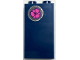 Part No: 87544pb045  Name: Panel 1 x 2 x 3 with Side Supports - Hollow Studs with Flower Pattern (Sticker) - Set 40307
