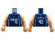 Part No: 973bpb138c01  Name: Torso NBA Dallas Mavericks #41 Pattern / Flesh NBA Arms
