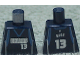 Part No: 973bpb148  Name: Torso NBA Dallas Mavericks #13 Pattern