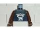 Part No: 973bpb185c01  Name: Torso NBA Minnesota Timberwolves #21 (Dark Blue Jersey) Pattern / Brown NBA Arms