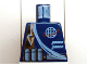 Part No: 973pb0205  Name: Torso Alpha Team Logo, Arrow, Shoulder Rope Pattern