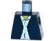 Part No: 973pb0333  Name: Torso Town Blazer over Light Blue Button Down Shirt Pattern