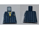 Part No: 973pb0899  Name: Torso Suit Pinstripe Jacket and Gold Tie Pattern