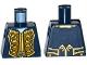 Part No: 973pb1930  Name: Torso Pirate Bluecoat Governor Pattern