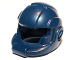 Part No: 99254  Name: Minifigure, Headgear Helmet Space with Open Visor Large