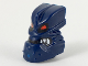 Part No: x1818px1  Name: Minifigure, Head Modified Bionicle Piraka Vezok with Eyes and Teeth Pattern