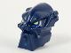 Part No: x1819px1  Name: Minifigure, Head Modified Bionicle Inika Toa Hahli with Lime Eyes Pattern