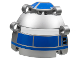 Part No: 51ps1  Name: Technic, Panel Dome 6 x 6 x 5 2/3 with R2-D2 No Eye Pattern
