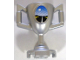 Part No: 89801pb01  Name: Minifigure, Utensil Trophy Cup with Road and Full Moon Pattern (Sticker) - Set 8898