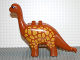 Part No: 31053pb02  Name: Duplo Dinosaur Brachiosaurus Adult with Yellow Spots Pattern
