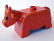 Part No: 4010px1  Name: Duplo Cow Adult First Version with Black Eyes