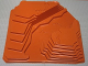 Part No: 4116414  Name: Baseplate, Raised 32 x 42 Canyon Stepped No Studs