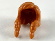 Part No: 41615  Name: Minifigure, Hair Female, Parted on Left with 2 Long Braids Over Shoulders