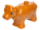 Part No: 6673pb02  Name: Duplo Cow Adult Second Version with Udder